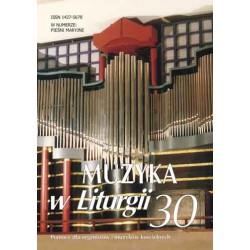 """""""Muzyka w Liturgii"""" Nr 30 (1/2004)"""